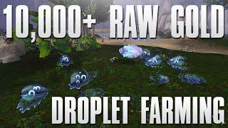 WoW Legion: 10,000+ Raw Gold Farm   Droplet Farming Guide!