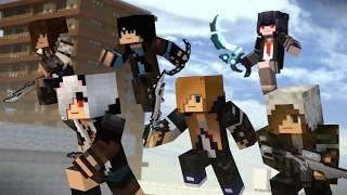 Berk Coşkun (Gizlerdim-Mevzu derin-Daha yeni başladı) Minecraft Animasyon