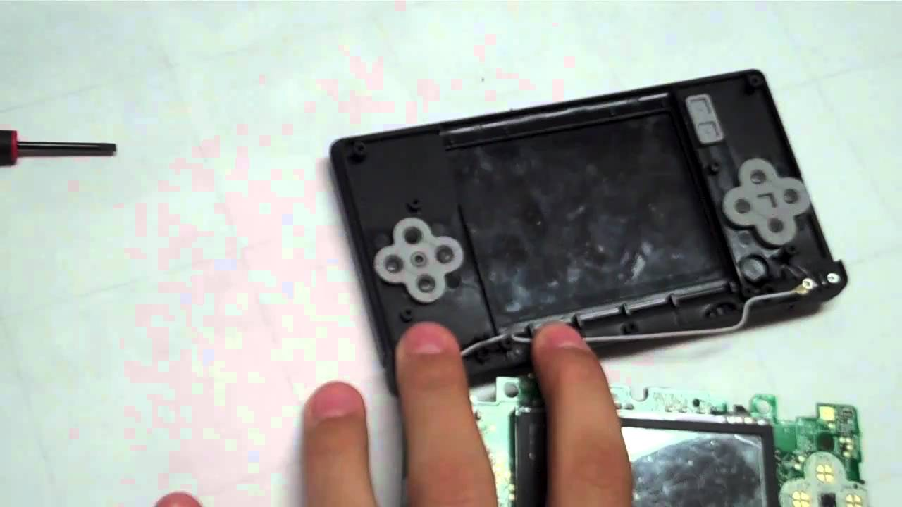 How to Fix a Faulty Nintendo DS / 3DS Game Card - YouTube