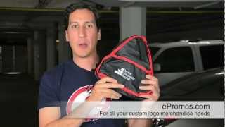 Promotional Auto Emergency Kit in Reflective Case