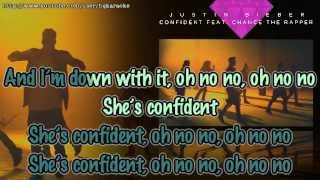 Justin Bieber - Confident ft. Chance The Rapper [Karaoke / Instrumental] Mp3