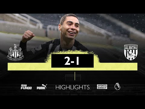 Newcastle United 2 West Brom 1 | Premier League Highlights