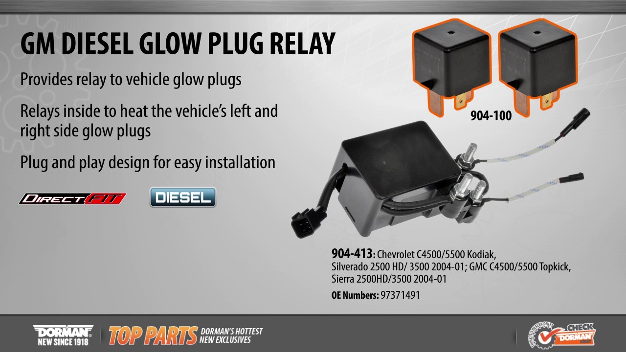 small resolution of diesel glow plug relay