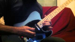 COVER LENNY KRAVITZ - Believe - Outro solo by Kam HAKIL