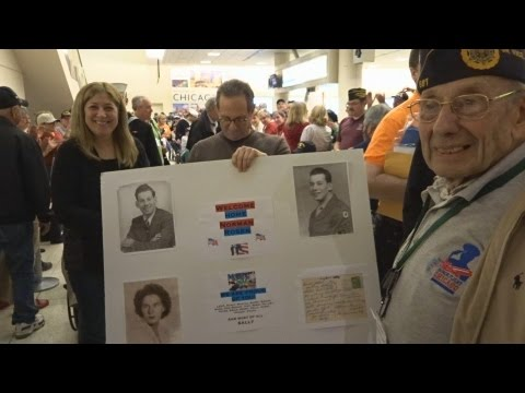 Honor Flight Chicago - October 29, 2014 - Midway Airport