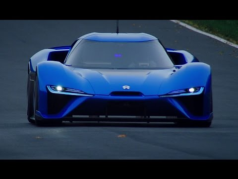 NIO EP9 the fastest electric car in the...