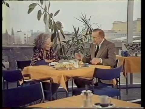 Franz Grothe im Gespräch mit Brigitte Horney 1978  Illusion 1941