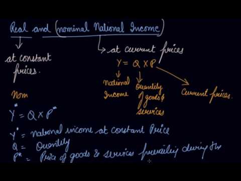 Real & Nominal Natioanl Income |  Class 12 Macroeconomics National Income and Related Aggregates