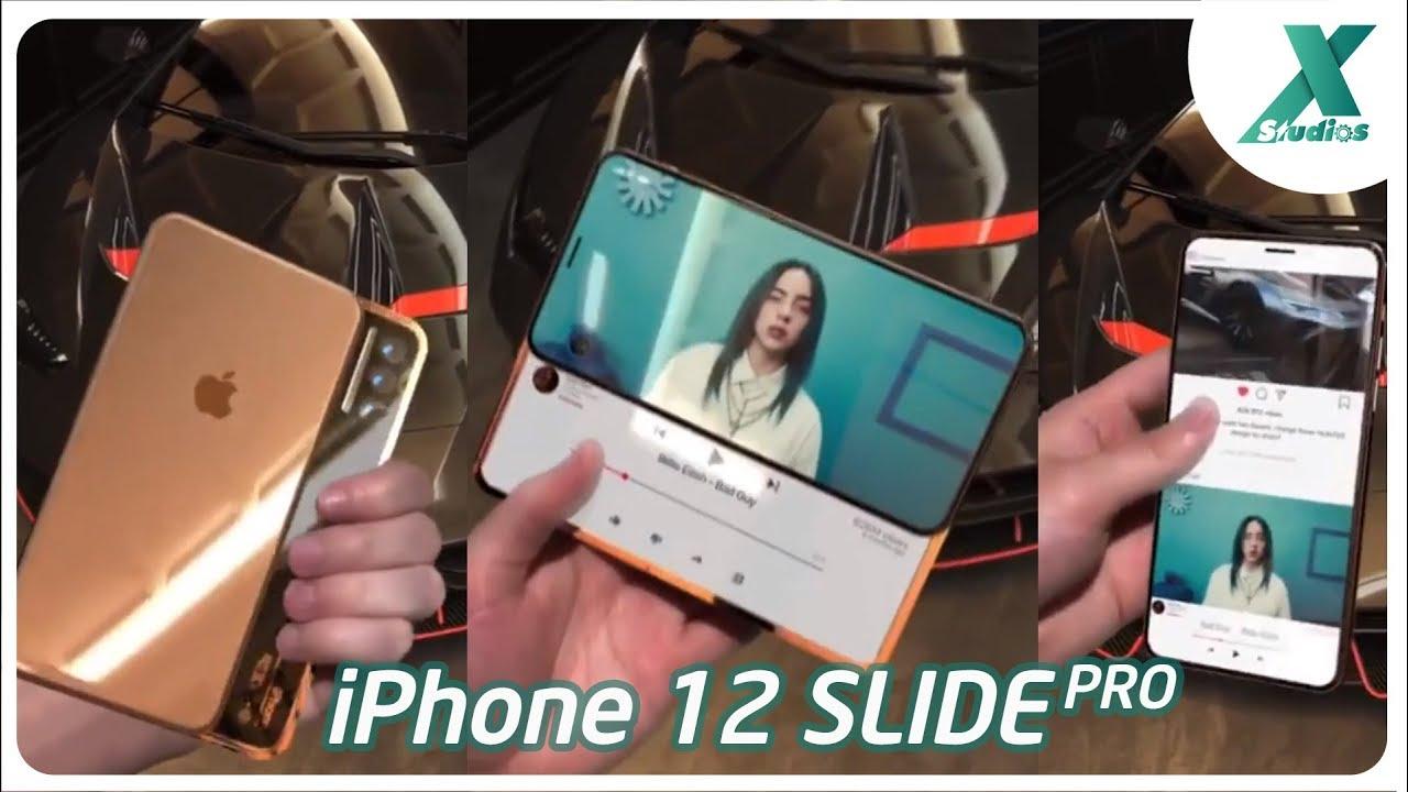 Ngắm iPhone 12 Slide Pro 3 màn hình đẹp hút mắt