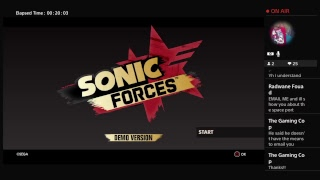 SONIC FORCES DEMO LIVE