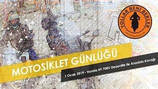 Motosiklet Günlüğü // MADRUN - 1 Ocak 2019 - Anadolu Kavağı // Honda NT 700V Deauville