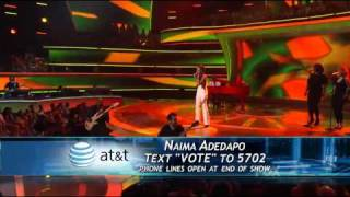 Naima Adedapo - I'm Still Standing - American Idol Top 11 (2nd Week) - 03/30/11