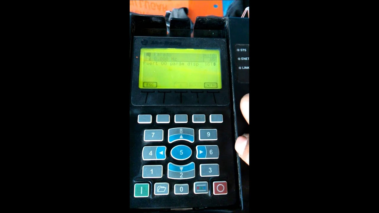 Poweflex 753 Allen-dley. Configuración a 3 hilos on