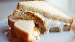 The BEST Stoner Munchies Sandwich = Peanut Butter & Fluff add Maple Syrup