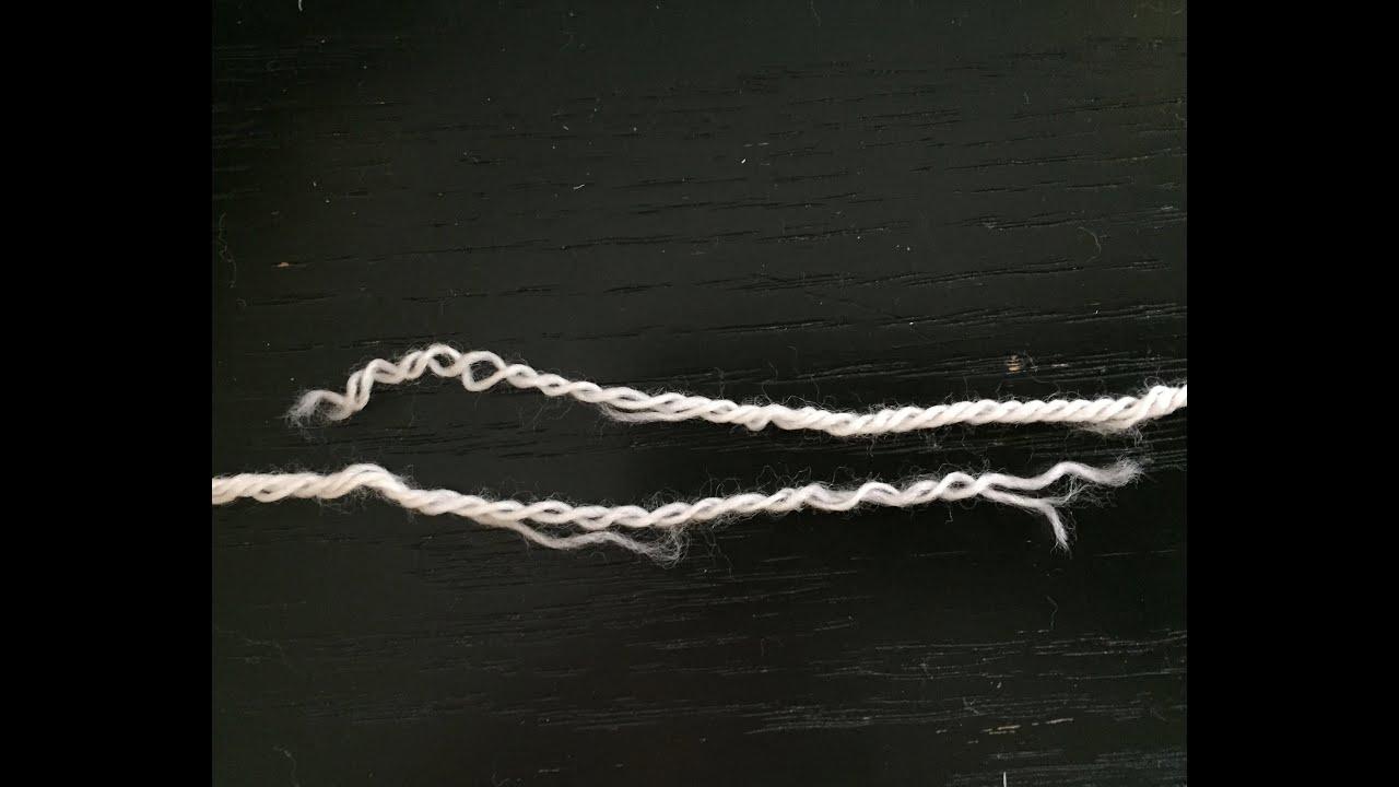 Watch How to Splice Yarn video