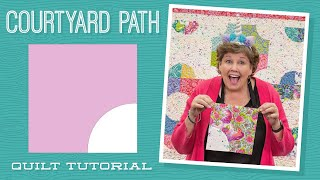 """Make a """"Courtyard Path"""" Quilt with Jenny Doan of Missouri Star (Video Tutorial)"""
