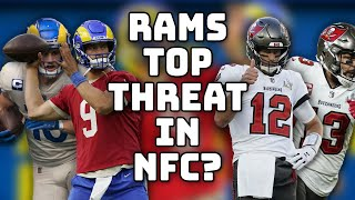 Do Rams represent top threat to Bucs in NFC? | 'NFL Total Access'