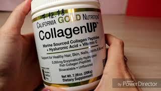коллаген рыбный CollagenUP CALIFORNIA GOLD NUTRITION  из iherb краткий обзор. Код AFE1275