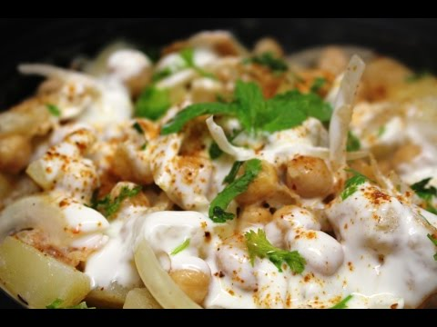 Aloo Chana Chaat - Cook With Sumair