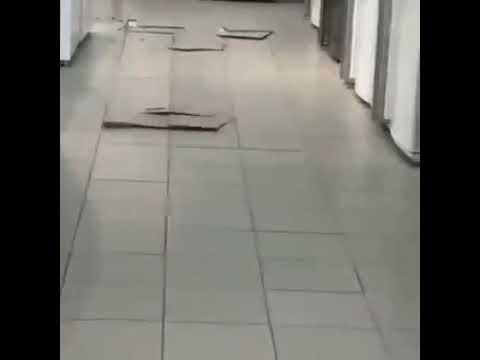 Lantai keramik pecah sendiri, apakah dipijak hantu ? Ini jawaban teknisnya