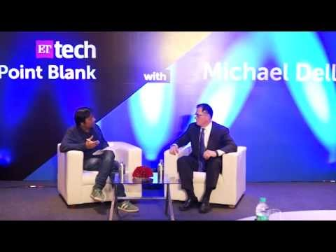 ETtech Point Blank with Michael Dell