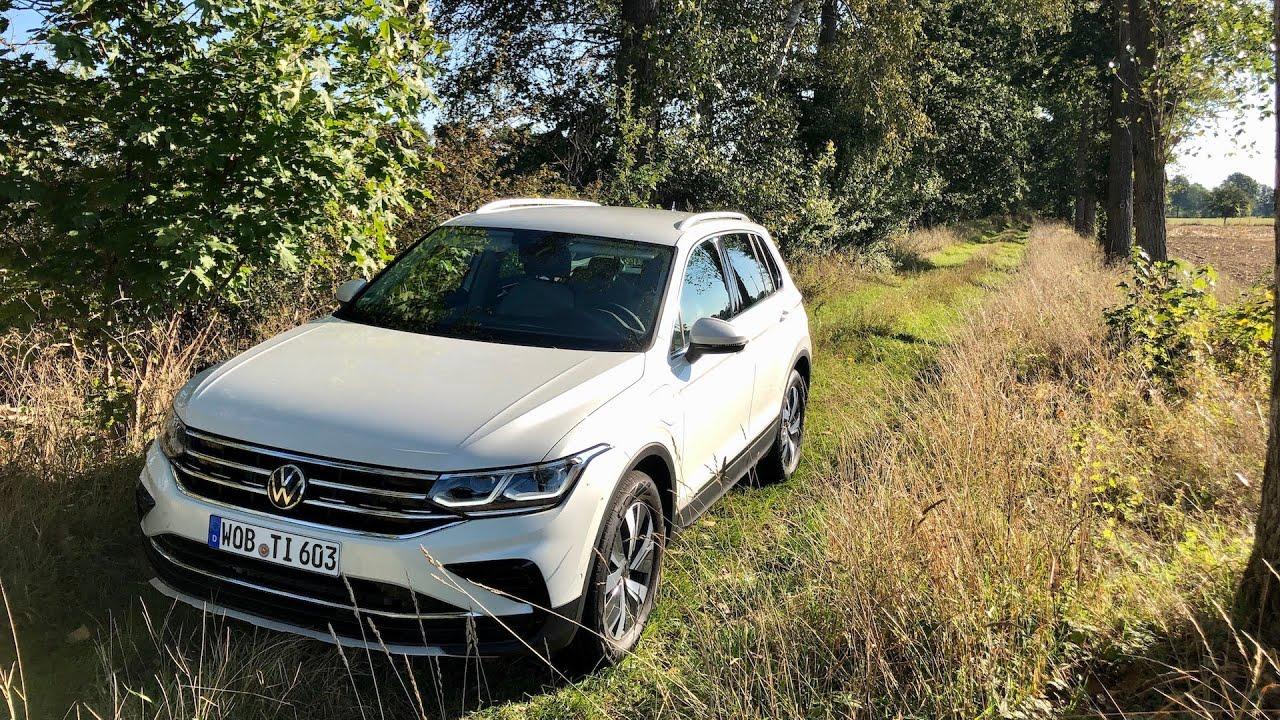 Volkswagen Tiguan 2021 PHEV pierwsza jazda PL Pertyn ...