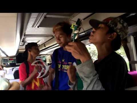 Pengamen Anyer Lucu di bus DAPD Kab. Bogor