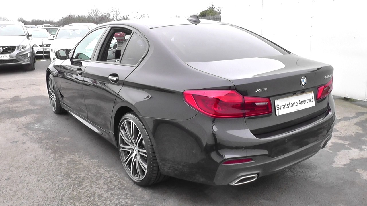 bmw 5 series 530d xdrive m sport 4dr auto u23346 youtube. Black Bedroom Furniture Sets. Home Design Ideas