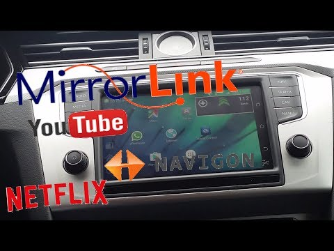 MirrorLink Samsung How-to Mirror All Apps