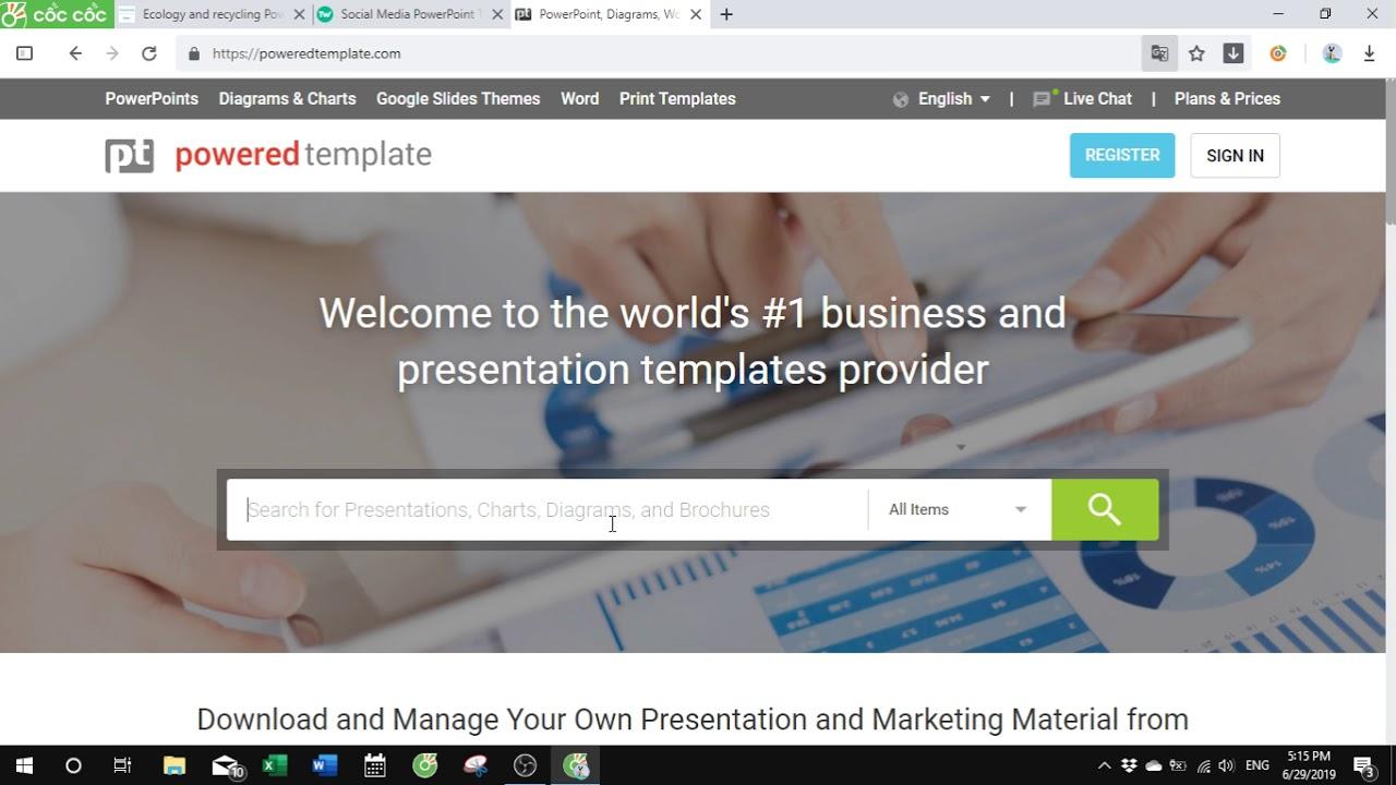 10 Trang Web Cung Cấp Mẫu PowerPoint Đẹp Và Miễn Phí