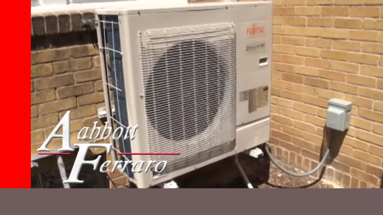hight resolution of  maxresdefault fujitsu ductless mini split system installed in st paul youtube fujitsu ductless split installation manual