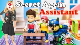 SECRET AGENT ASSISTANT Paw Patrol Nickelodoen Special Agent Assistant Paw Patrol Video Parody