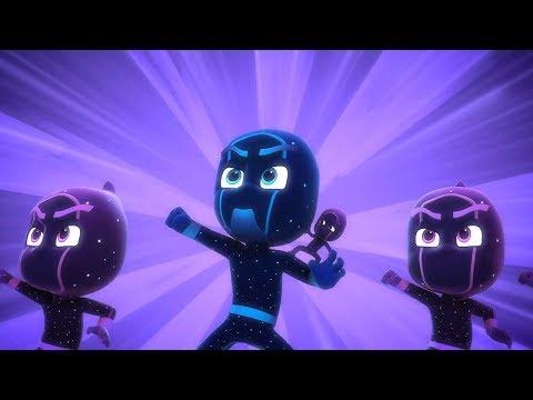Pijamaskeliler Türkçe - Pijamaskeliler Gece Ninjası ve Ninjalinolar - 30 Dakika - çizgi film