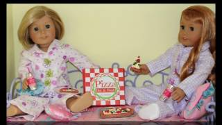 DIY Doll Pizza | American Girl Doll Crafts