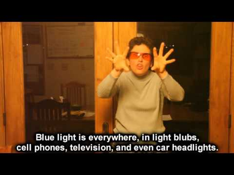 Orange Glasses And Melatonin