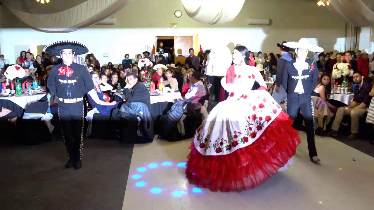 15 Anos Dresses From Mexico: VALS CHARRO DE XV AÑOS EDELIN URIBE