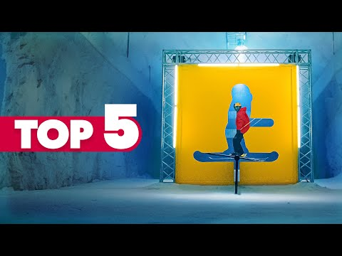 Top 5 Most Creative Ski Sessions Ever | Red Bull Snow