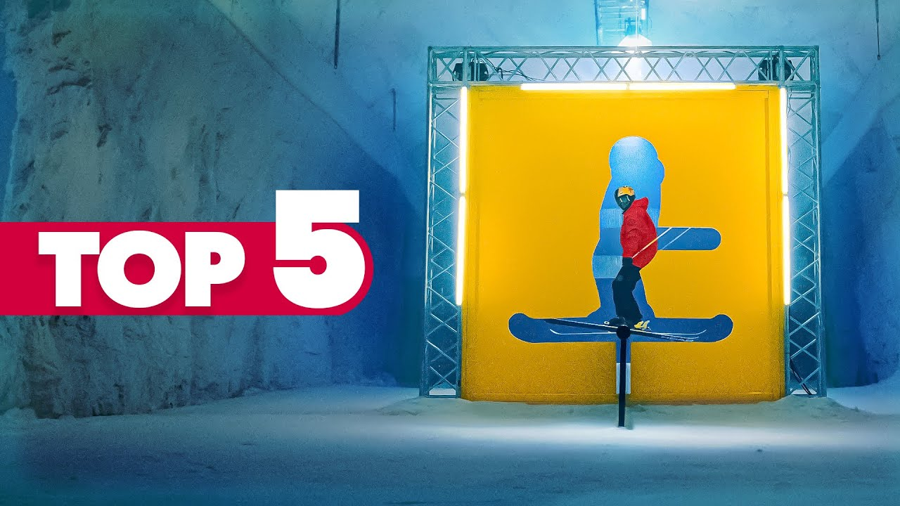 Can Skiing Get Any More Fun Than This? | Red Bull Top 5