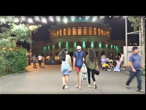 Yerevan, Armenia, Lively And Nice To Walk Even At Night!