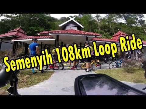 Weekly Ride 108km loop Semenyih area