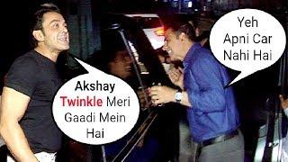 DRUNK Twinkle Khanna Sits In Bobby Deol's Car After Celebrating Akshay Kumar Birthday