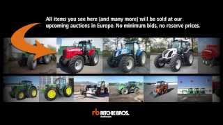 Buy tractors and farming equipment at Ritchie Bros. auctions in Europe