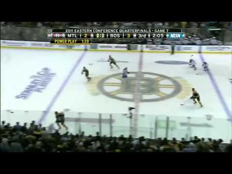 Canadiens @ Bruins Game 7 4/27/11