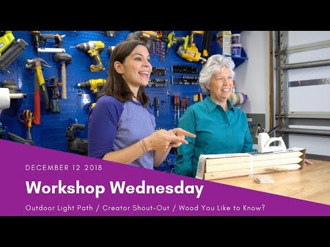 Workshop Wednesday: Last Minute Holiday Decor & Creator Shout-Out!