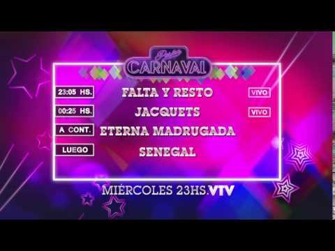 Agenda Carnaval Miércoles 27 Enero