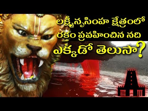 Secrets Behind  The Lord Narasimha Swami