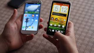 Samsung Galaxy S3 vs HTC One X(Today we compare the differences between between two of the best Android phones currently on the market, the Samsung Galaxy S3 vs the HTC One X. HTC ..., 2012-06-02T08:56:35.000Z)