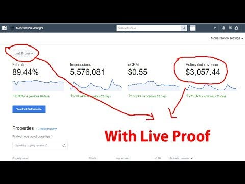 How To Earn $3000+ Per Month From Facebook Instant Articles with Live Proof 2018