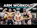 Arm Workout Ft Tristyn Lee and Bradley Martin