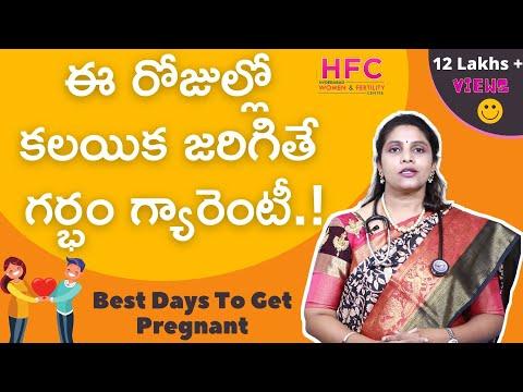 ఈ రోజుల్లో కలిస్తేనే  గర్భం గ్యారెంటీ...!  || Fertility Days To Get Pregnant || Dr Swapna Chekuri